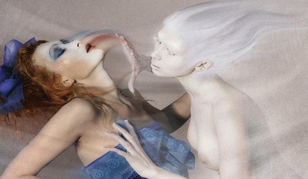 Лярва и женщина